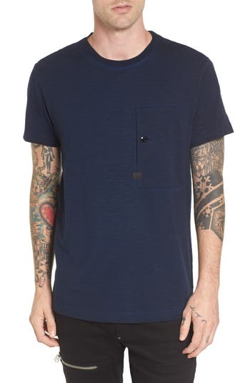 G-Star Raw Stalt Pocket T-Shirt, Blue