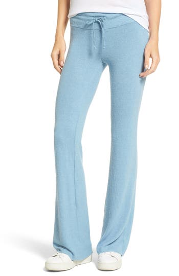 Dream Scene Flare Track Pants, Blue