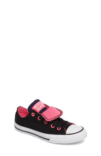 Girls Converse All Star Double Tongue Sneaker
