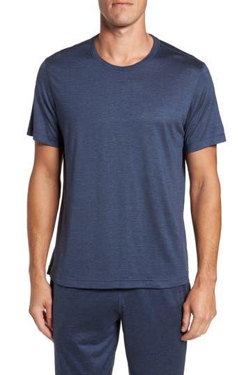 Men's Daniel Buchler Silk & Cotton Crewneck T-Shirt