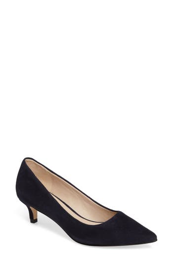 Pelle Moda Dena Pointy Toe Pump- Blue