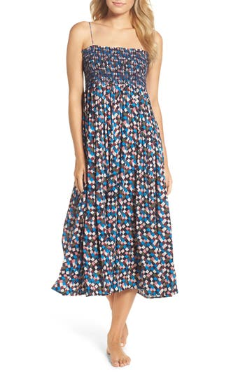 Tory Burch Prism Convertible Cover-Up Dress