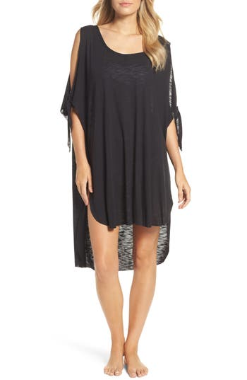 Becca Breezy Basics Cover-Up Dress, Size One Size - Black
