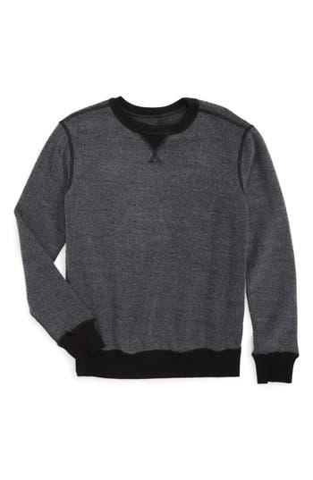 Boys Tucker  Tate Reverse Crewneck Sweatshirt