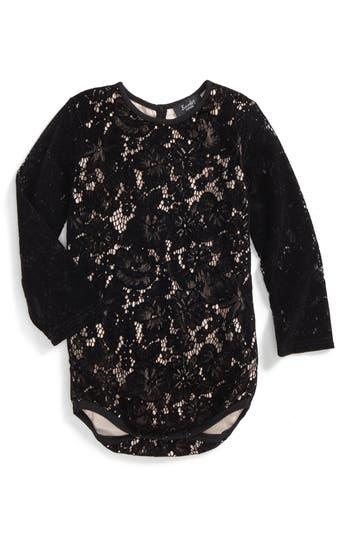 Toddler Girls Bardot Junior Lacey Bodysuit