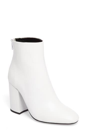 Tony Bianco Aseki Block Heel Bootie, White