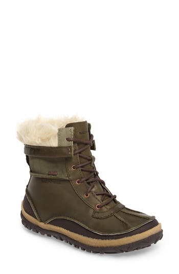 Merrell Tremblant Insulated Waterproof Boot- Green