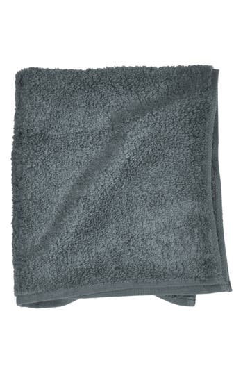 Uchino Zero Twist Washcloth, Size One Size - Grey