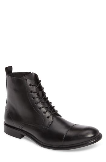 Kenneth Cole Reaction Cap Toe Boot, Black