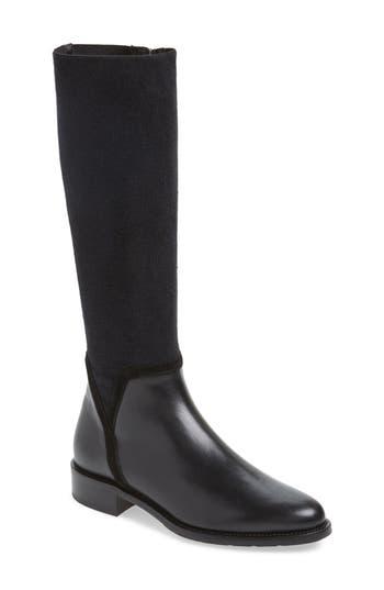 Aquatalia Nicolette Weatherproof Knee High Boot- Black