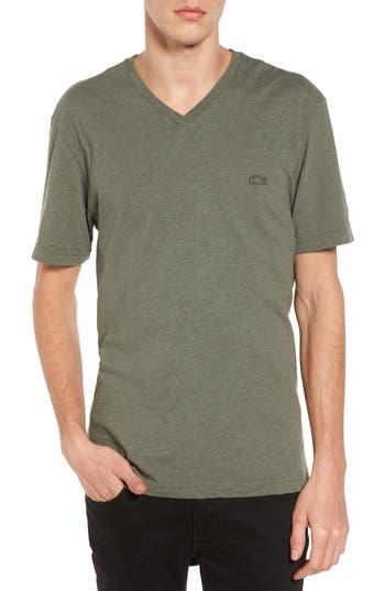 Lacoste V-Neck T-Shirt, Green