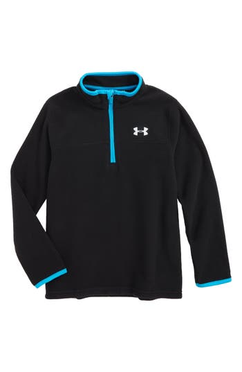 Toddler Boys Under Armour Logo Quarter Zip Pullover Size 2T  Red
