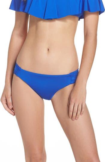Trina Turk Studio Solids Bikini Bottoms, Pink