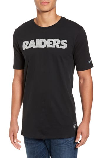 Nike Nfl Team Graphic T-Shirt, Black