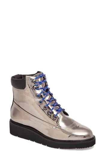 Shellys London Erin Brocade Boot, Grey