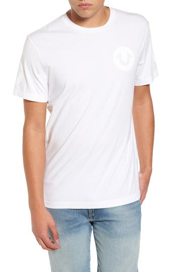 True Religion Brand Jeans Graphic T-Shirt, White