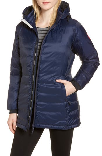 Canada Goose Camp Fusion Fit Packable Down Jacket, (0) - Blue