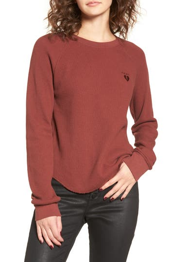 Obey Dune Thermal Top, Brown