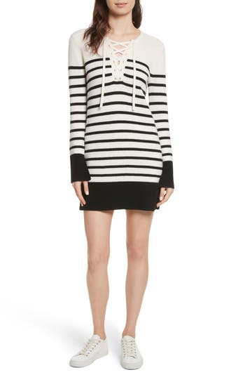 Joie Heltan Wool & Cashmere Sweater Dress, White