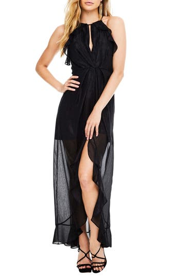 Astr The Label Arielle Maxi Dress, Black