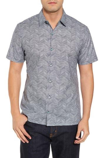 Men's Tori Richard Vertigo Trim Fit Print Sport Shirt