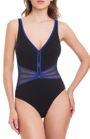 Women's Profile By Gottex Grand Prix One-Piece Swimsuit