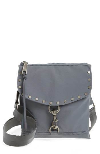 Rebecca Minkoff Nylon Flap Crossbody Bag - Grey at NORDSTROM.com