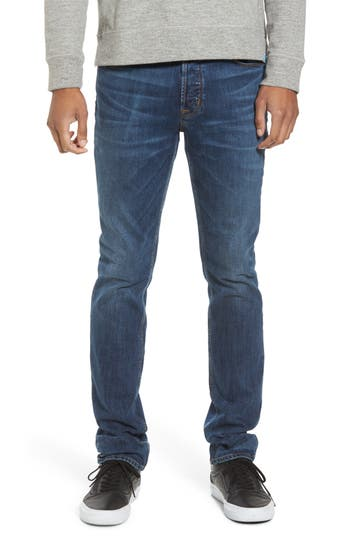 Hudson Jeans Sartor Slouchy Skinny Fit Jeans, Blue