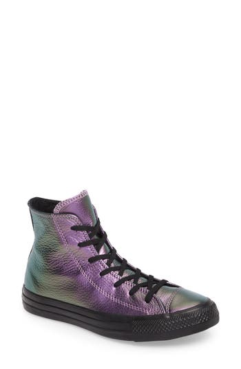 Converse Chuck Taylor All Star Seasonal Hi Sneaker- Purple