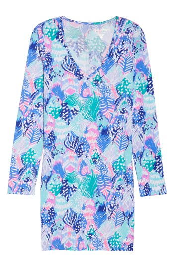 Lilly Pulitzer Beacon Dress, Blue/green