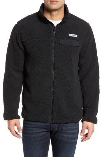 Columbia Harborside Fleece Jacket, Black