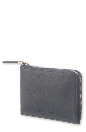 Moleskine Lineage Leather Zip Wallet
