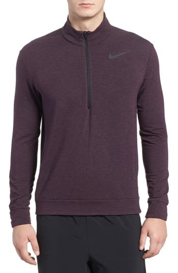 Nike Dry Training Quarter Zip Pullover