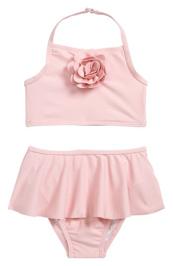 Infant Girls Kate Spade New York Skirted TwoPiece Swimsuit