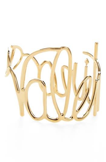Women's Valentino Logo Script Bangle Bracelet