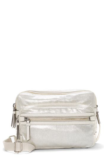 Vince Camuto Patch Nylon Crossbody - Metallic