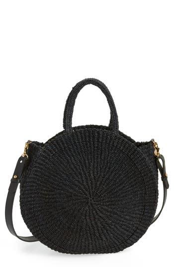 Clare V. Alice Woven Sisal Straw Bag