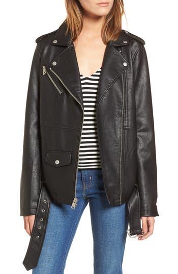 Levi's® Oversize Faux Leather Moto Jacket