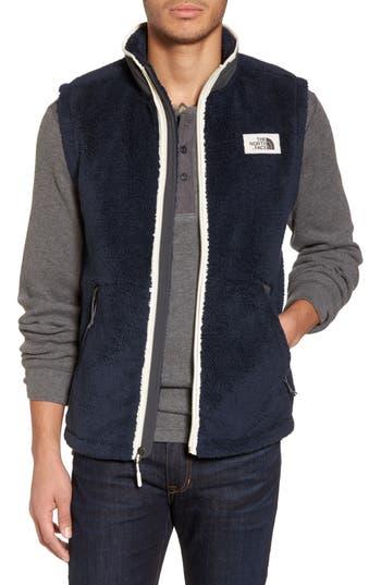 Men's The North Face Campshire Fleece Vest, Size Small - Blue