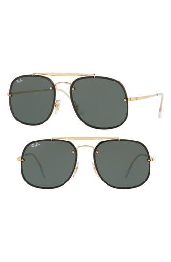 Ray-Ban Blaze General 5m Aviator Sunglasses - Gold
