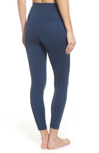 Zella Lightweight High Waist Midi Leggings, Blue