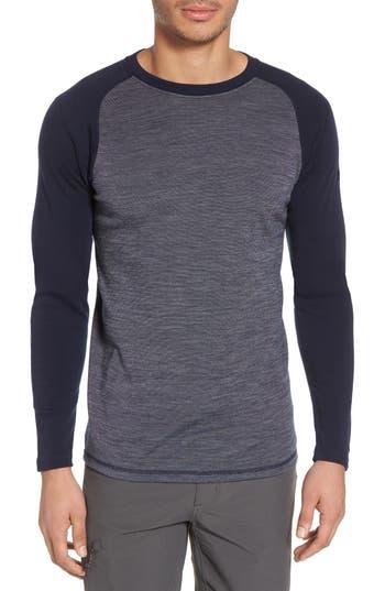 Smartwool Merino Wool Raglan T-Shirt, Blue