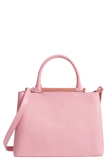 Ted Baker London Anabel Leather Satchel - Pink