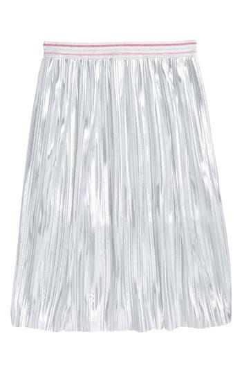 Girl's Kate Spade New York Metallic Skirt, Size 7 - Metallic