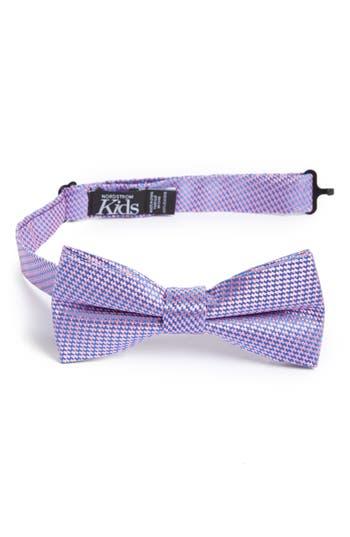 Boys Nordstrom Digital Print Silk Bow Tie Size Big Boy  Pink