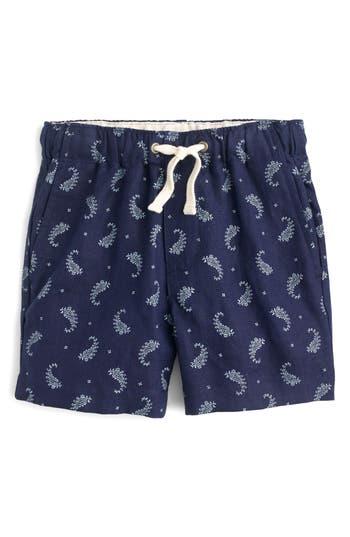 Boys Crewcuts By Jcrew Paisley Dock Shorts