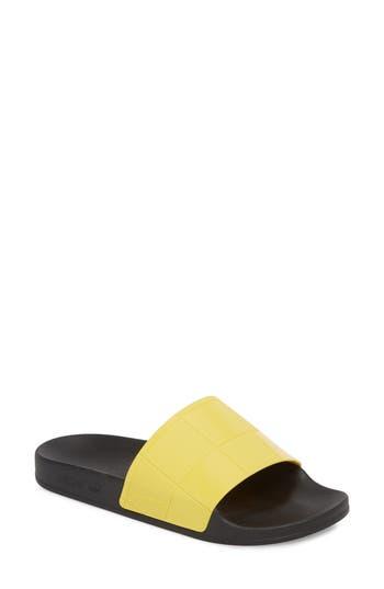 Adidas By Raf Simons Adilette Slide Sandal, Yellow