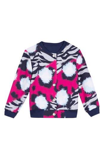 Girls Kenzo Reversible Bomber Jacket