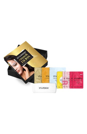 STARSKIN SOLID GOLD SHEET MASK SET