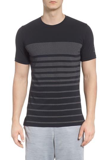 Under Armour Sportstyle Crewneck T-Shirt, Black
